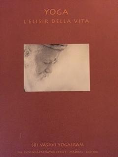 Book Cover: Yoga l'elisir della vita di Walter Thirak Ruta
